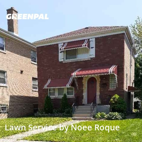 Lawn Cutin Berwyn,60402,Lawn Care Service by Roque Landscaping , work completed in Jul , 2020