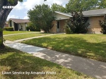 Lawn Mowingin Corpus Christi,78416,Lawn Cut by Clean Cuts, work completed in Jul , 2020