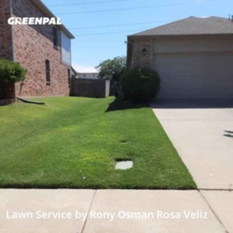 Lawn Carein Roanoke,76262,Grass Cutting by R&Rconstructionsllc, work completed in Sep , 2020