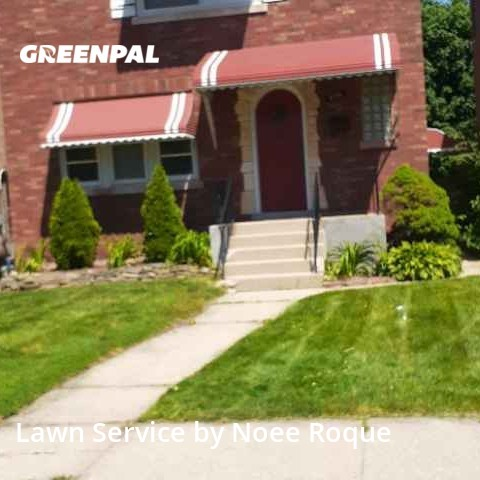 Lawn Servicein Berwyn,60402,Lawn Mowing by Roque Landscaping , work completed in Jul , 2020