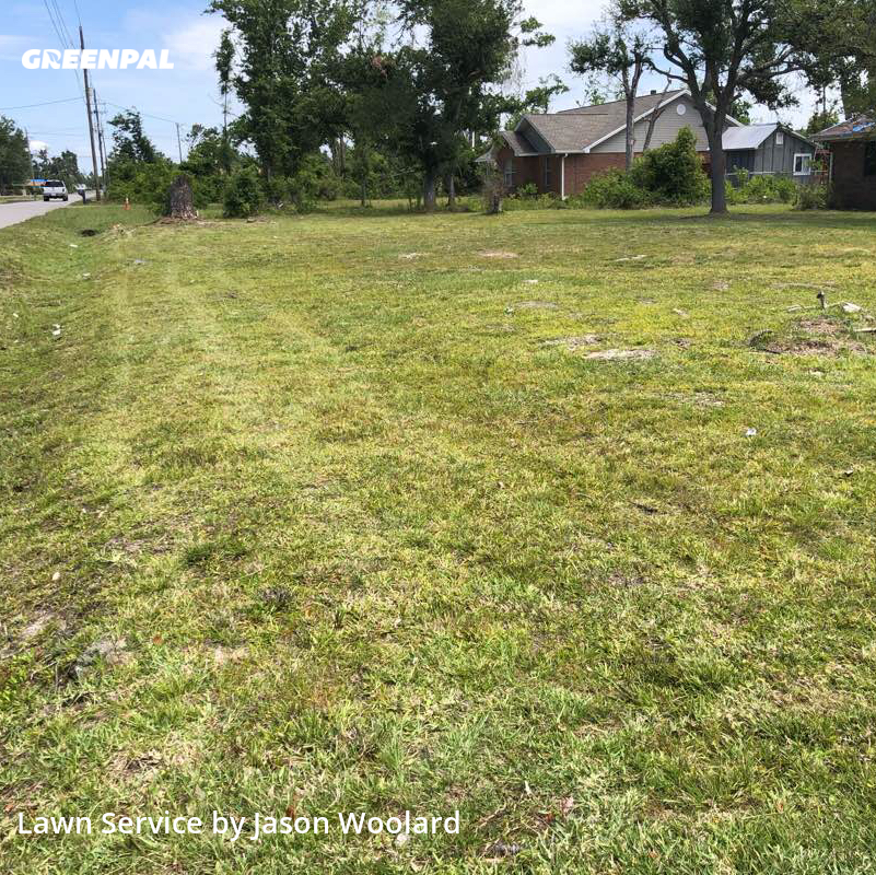 Grass Cutin Panama City,32404,Lawn Care Service by Jason Woolard, work completed in Aug , 2020