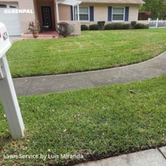 Lawn Cuttingin Altamonte Springs,32714,Yard Cutting by G&W Lawn Care , work completed in Aug , 2020