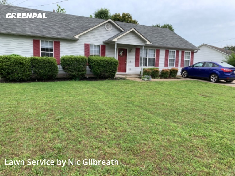 Yard Cuttingin Jackson,38301,Yard Mowing by Gilbreath Lawn Care, work completed in Aug , 2020