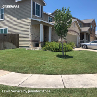 Lawn Cuttingin Converse,78109,Yard Cutting by Jj's Mobile Services , work completed in Jul , 2020