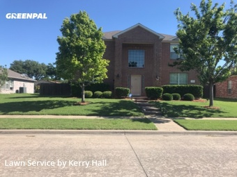 Lawn Care Servicein Garland,75043,Grass Cut by Platinum Iv Lawn Co., work completed in Jul , 2020