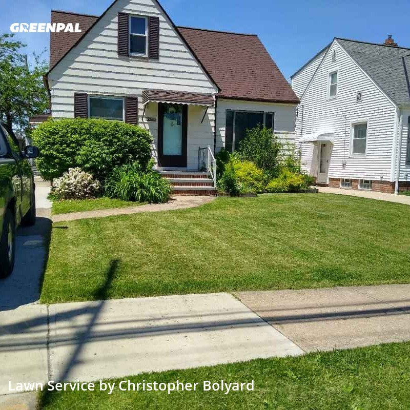 Lawn Maintenancein Parma,44129,Grass Cut by B&B Trading Post Llc, work completed in Jul , 2020
