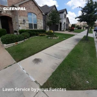 Yard Cuttingin Lewisville,75056,Lawn Care Service by Cowboy Cutt Lawn Care, work completed in Jul , 2020
