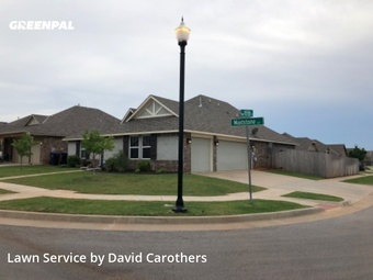Grass Cutin Edmond,73012,Yard Mowing by C Custom Lawn Care, work completed in Sep , 2020