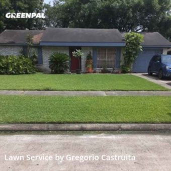 Yard Mowingin League City,77573,Lawn Mowing by Castruita Lawn , work completed in Jul , 2020