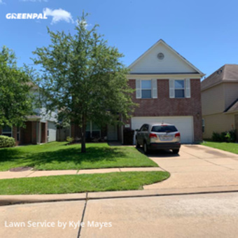 Lawn Cuttingin Houston,77084,Lawn Cutting by Dynamic Lawncare, work completed in May , 2020