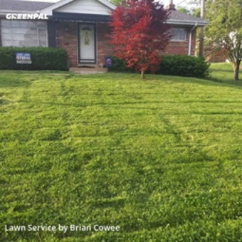 Lawn Maintenancein Affton,63123,Yard Mowing by Cnchauling&Lawncarel, work completed in Jul , 2020