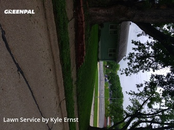 Lawn Care Servicein Bellevue,68005,Lawn Maintenance by Kyle's Lawns, work completed in Jul , 2020