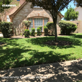 Yard Mowingin Sugar Land,77479,Lawn Care by Gm Landscaping Llc, work completed in May , 2020