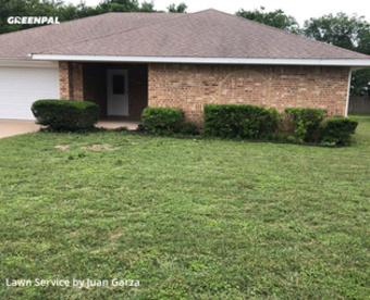 Yard Cuttingin New Braunfels,78130,Grass Cut by Texas Lawn Rangers, work completed in Jul , 2020
