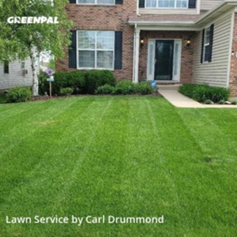 Lawn Cuttingin Elgin,60120,Lawn Cutting by Drummond Lawn Care, work completed in Jul , 2020