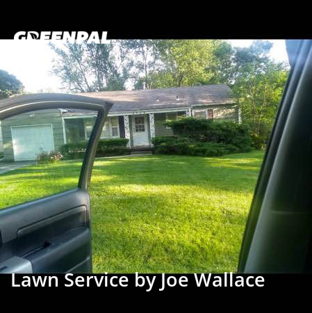 Yard Mowingin Mission,66205,Grass Cutting by Joe's Lawn Service, work completed in Jul , 2020