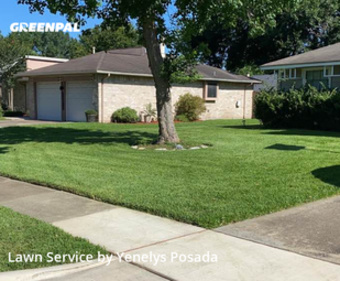 Grass Cutin Sugar Land,77498,Lawn Mowing by Lawn Impact Llc, work completed in Jul , 2020