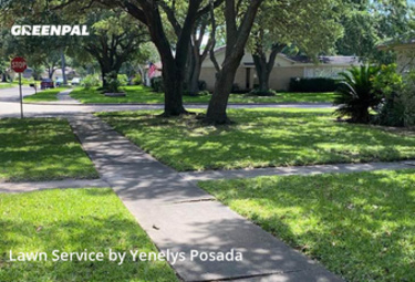 Lawn Mowingin Houston,77450,Lawn Cutting by Lawn Impact Llc, work completed in May , 2020