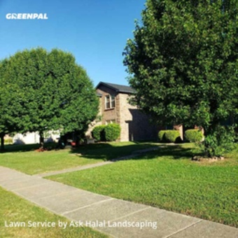 Yard Mowingin Lancaster,75134,Lawn Care by Ask Halal Landscaping, work completed in Jul , 2020