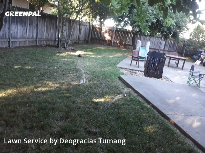 Yard Cuttingin Rancho Cordova,95670,Lawn Mow by Dst Landscaping, work completed in Jul , 2020