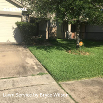Lawn Mowin Houston,77047,Lawn Mowing Service by Wilson's Lawn Care, work completed in May , 2020