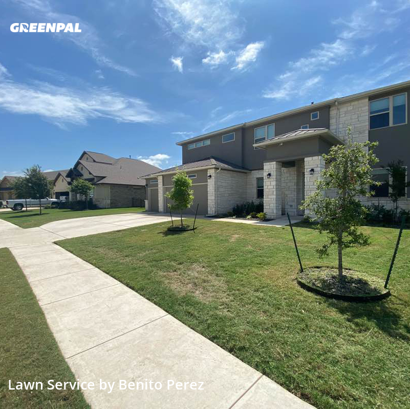 Lawn Cutin Pflugerville,78660,Yard Cutting by Benzki Lawn Care, work completed in Aug , 2020