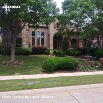 Lawn Cutin Richardson,75082,Lawn Mowing by L&J Landscape, work completed in Jul , 2020