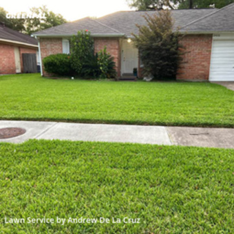 Lawn Mowing Servicein Missouri City,77489,Lawn Cutting by Dlc Lawn Care , work completed in Jul , 2020