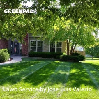 Lawn Mowing Servicein Bolingbrook,60490,Yard Cutting by Valerio's Landscaping, work completed in Jul , 2020