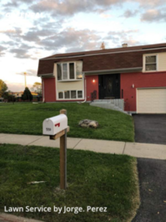 Lawn Mowing Servicein Bolingbrook,60440,Lawn Cutting by 4 Season Home Servic, work completed in Jul , 2020