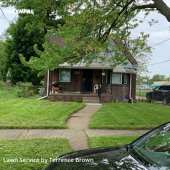 Yard Cuttingin Detroit,48205,Lawn Service by Ttadevelopment Llc, work completed in May , 2020