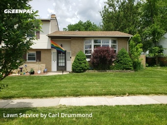 Lawn Care Servicein Palatine,60074,Yard Mowing by Drummond Lawn Care, work completed in Jul , 2020