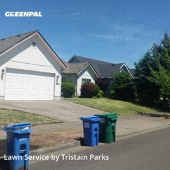 Lawn Mowingin Eugene,97401,Lawn Care Service by Parks Lawncare, work completed in May , 2020