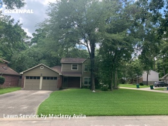 Lawn Cutin The Woodlands,77380,Lawn Maintenance by Simply Mowed Service, work completed in Aug , 2020