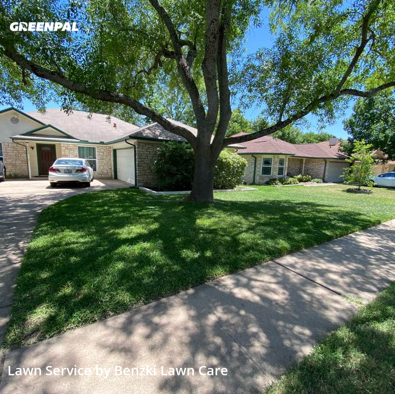 Lawn Mowing Servicein Wells Branch,78728,Lawn Mow by Benzki Lawn Care, work completed in Jul , 2020
