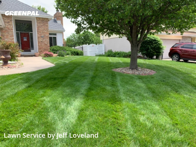 Lawn Cutin Omaha,68130,Lawn Mowing by Cross Cut Lawncare, work completed in Aug , 2020
