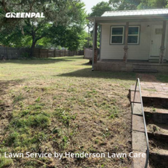 Grass Cuttingin Midwest City,73130,Lawn Mow by Henderson Lawn Care, work completed in Oct , 2020