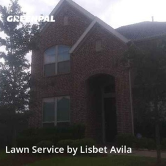 Yard Mowingin Cypress,77429,Grass Cutting by Lilies Landscaping , work completed in Jul , 2020