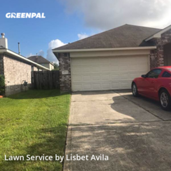 Lawn Mowing Servicein Tomball,77375,Lawn Cut by Lilies Landscaping , work completed in Jul , 2020