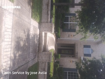 Lawn Mowin Cypress,77433,Lawn Care Service by Avila's Lawnscaping , work completed in Jul , 2020