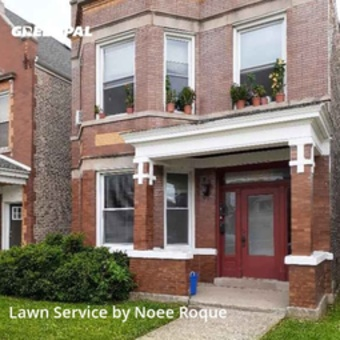 Lawn Mowing Servicein Cicero,60804,Lawn Service by Roque Landscaping , work completed in Sep , 2020