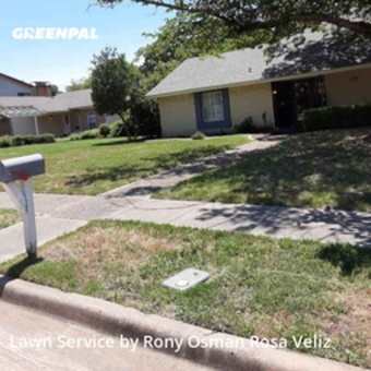 Lawn Mowingin Richardson,75081,Lawn Mowing Service by R&Rconstructionsllc, work completed in Jul , 2020