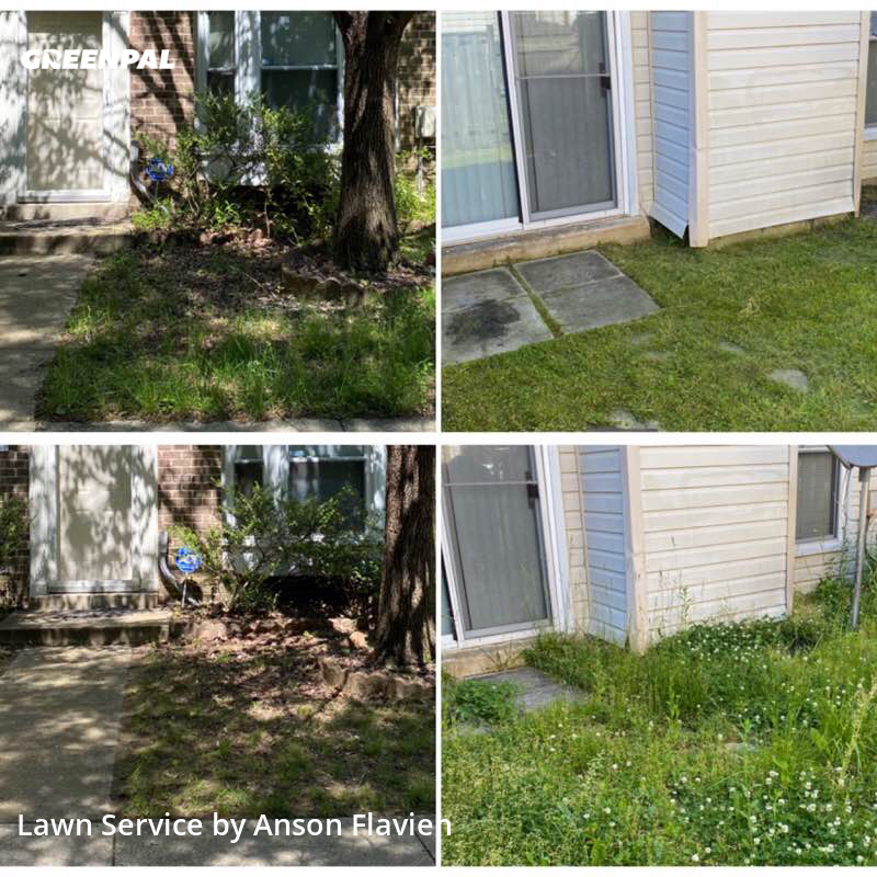 Yard Mowingin Bowie,20716,Lawn Mow by Kr Services, work completed in Jul , 2020