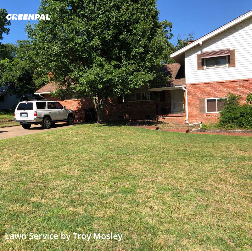 Yard Mowingin Sand Springs,74063,Yard Mowing by Mosley Lawn Service, work completed in Aug , 2020