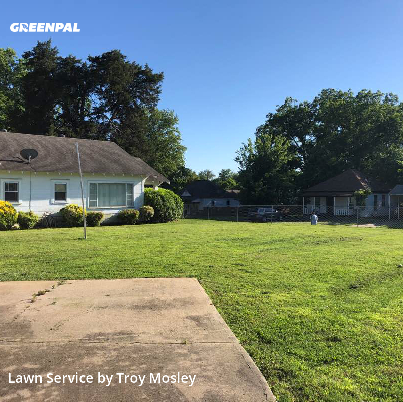 Lawn Mowingin Sapulpa,74066,Grass Cut by Mosley Lawn Service, work completed in Aug , 2020