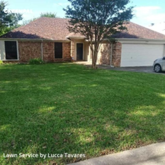 Lawn Mowingin North Richland Hills,76182,Lawn Service by L&J Landscape, work completed in Jul , 2020