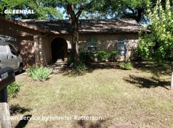 Lawn Carein Denton,76209,Lawn Maintenance by Jenni's Green Team, work completed in Jul , 2020