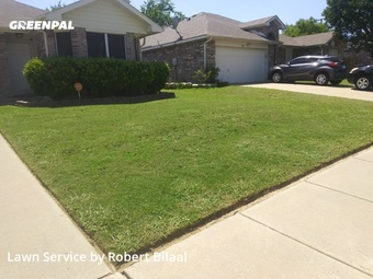Lawn Maintenancein Grand Prairie,75052,Lawn Cutting by Ask Halal Landscaping, work completed in Jul , 2020