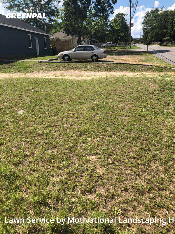 Lawn Servicein Augusta,30906,Lawn Mow by Motivational Landsca, work completed in Oct , 2020