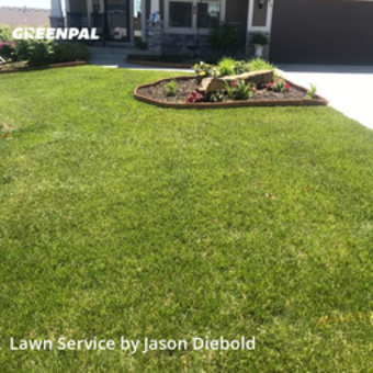 Lawn Cuttingin Lansing,66043,Grass Cut by Odyssey Lawn Care, work completed in Jun , 2020